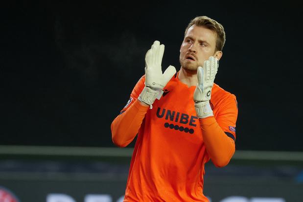 Club Brugge kan tegen Kiev toch op Mignolet rekenen na negatieve tweede test