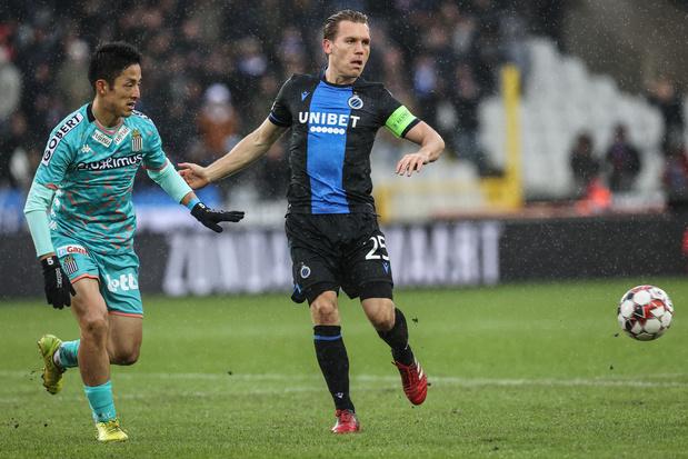 Bruges-Charleroi lancera la saison de Pro League