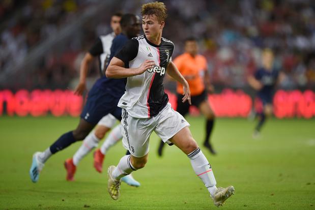 De Ligt débute comme titulaire avec la Juventus par... un but contre son camp