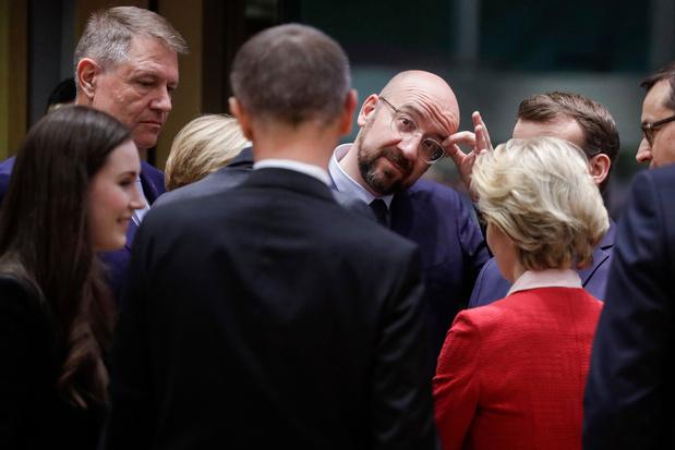 Budget européen: fin du sommet sans accord