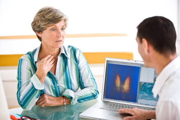 Traitement à l'iode radioactif de l'hyperthyroïdie et risque de mortalité par cancer