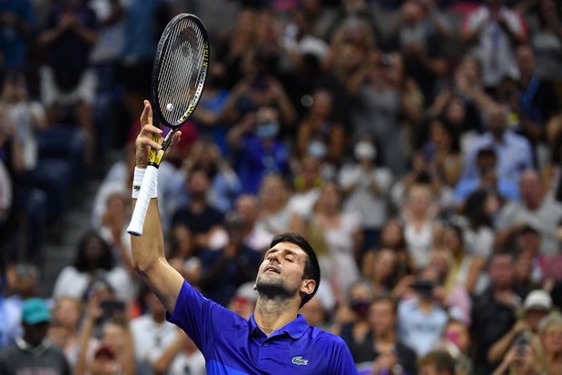 US Open: Djokovic perd encore un set mais se qualifie pour les quarts