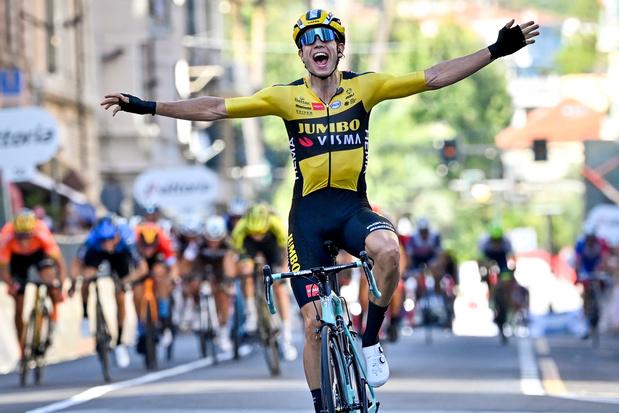Wout Van Aert empoche la 1ère étape du Critérium du Dauphiné