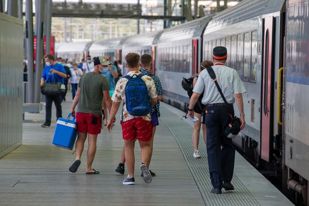 Week-end à la Côte belge: pensez à réserver votre place de train