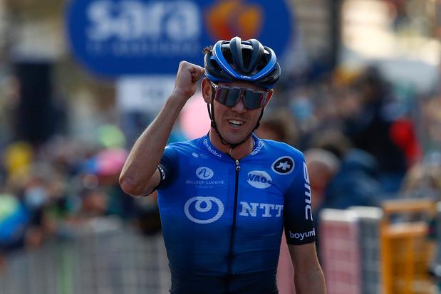 Ben O'Connor is de sterkste in zeventiende etappe Giro, Joao Almeida blijft leider