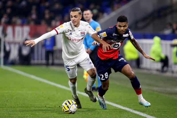 Maxence Caqueret, de nieuwe diamant van Olympique Lyon