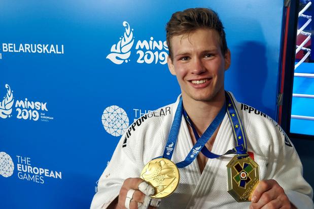 Le judoka Matthias Casse offre une 5e médaille à la Belgique