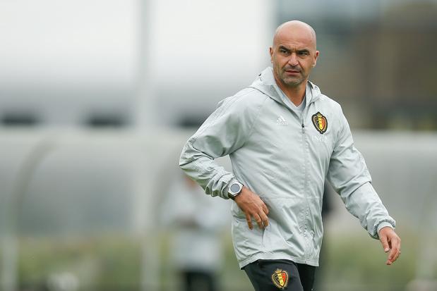 """Roberto Martinez ne compte pas faire de test contre Saint-Marin: """"C'est un match de qualification"""""""