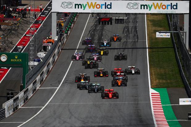Begint F1 begin juli in Oostenrijk?