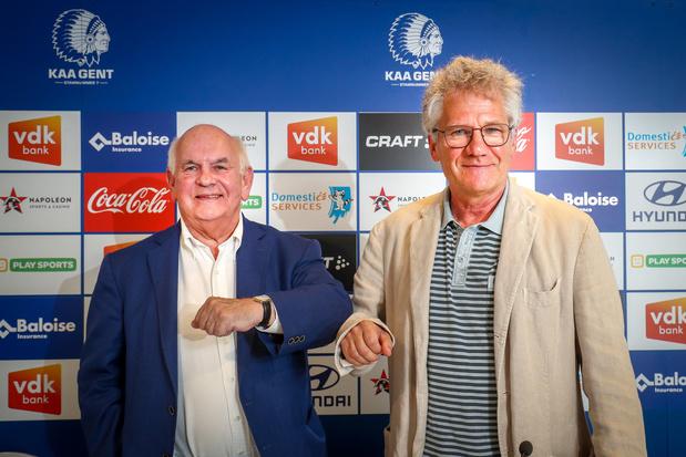 Laszlo Bölöni vervangt Jess Thorup als coach van KAA Gent: 'We kunnen samen nog stappen zetten'