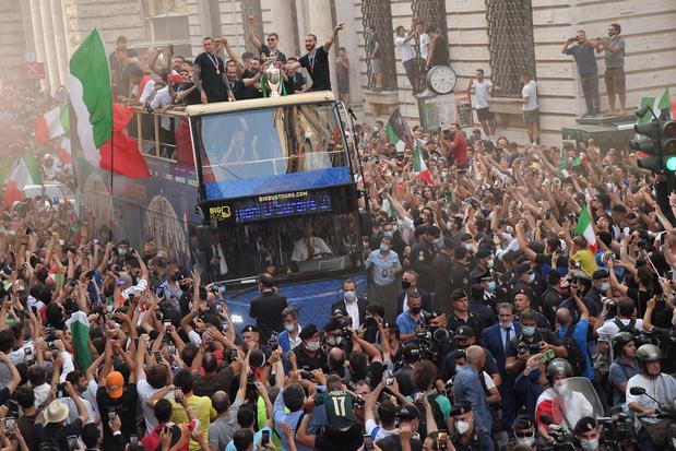 'De EK-zege verhoogt het zelfbeeld van Italië, een land dat niets onder controle leek te hebben'