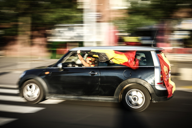 """Les accidents doublent après un match des Diables Rouges: """"Le Belge n'a pas assez conscience que l'alcool au volant est intolérable"""""""