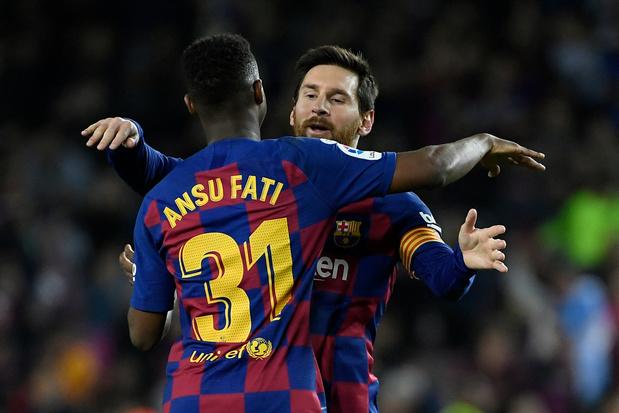 Le numéro 10 au Barça rimera désormais avec Fati