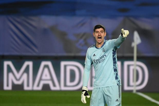 Thibaut Courtois décisif avec le Real Madrid