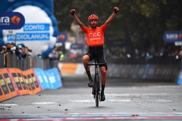 Cerny verschalkt Belgen in overgangsetappe Giro