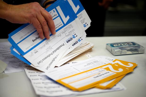 Uitslagen Democratische voorverkiezing Iowa blijven voorlopig uit door technische problemen