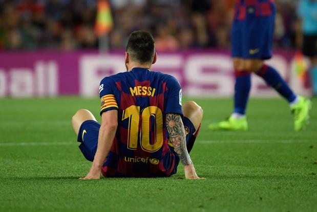 Le Barça s'impose... mais perd encore Messi
