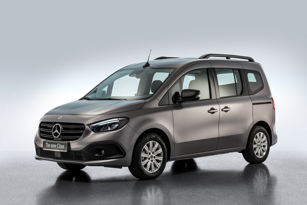 Tweede generatie Citan krijgt Mercedes-look