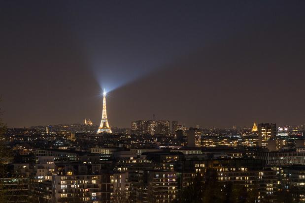 La Tour Eiffel rendra hommage tous les soirs aux personnes mobilisées face au Covid-19