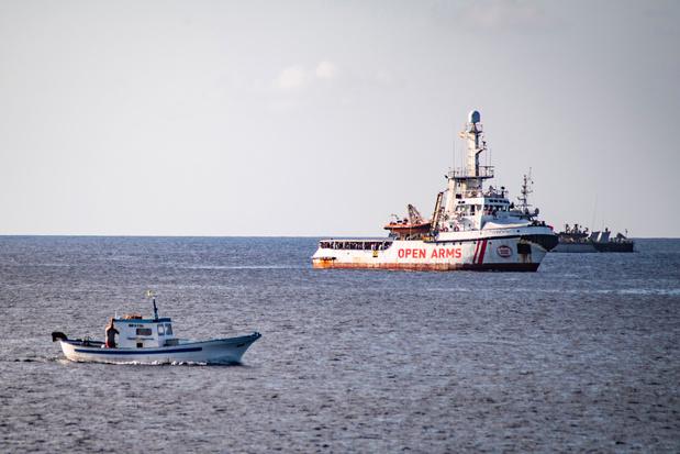 Italië bereid om opvarenden Open Arms onder voorwaarden naar Spanje te brengen