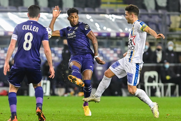 Anderlecht geraakt niet voorbij stug Waasland-Beveren