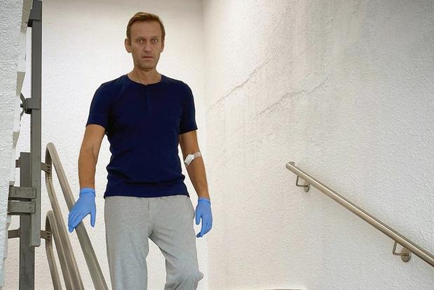 Alexej Navalny na vergiftiging: 'Herstel zal nog lang duren'