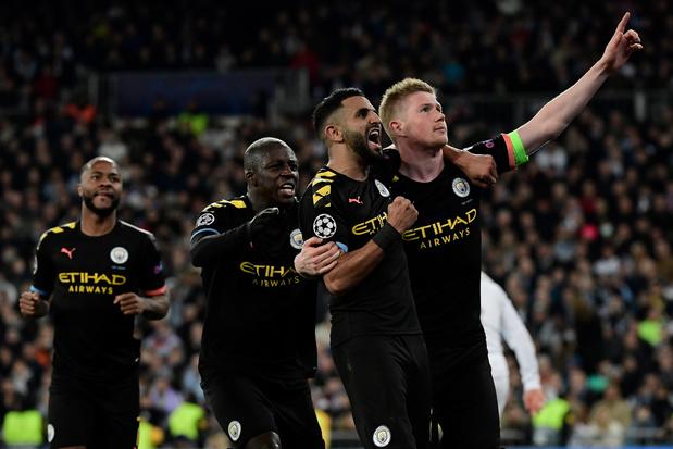 Manchester City et De Bruyne s'imposent au Real, Lyon surprend la Juventus