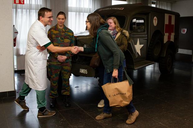 Coronavirus: huit patients en quarantaine ont pu quitter Neder-over-Heembeek
