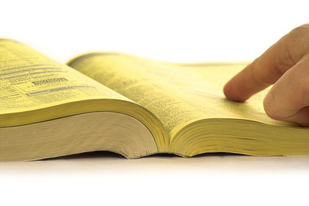 Les pages jaunes répertorient 300.000 entreprises encore actives