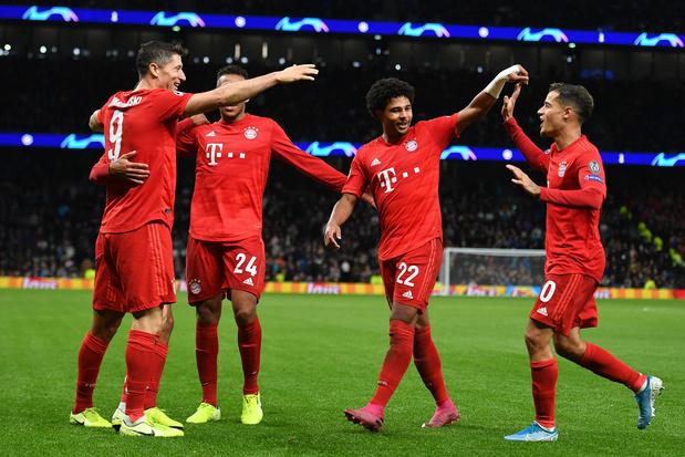 Tottenham humilié par le Bayern! (2-7)