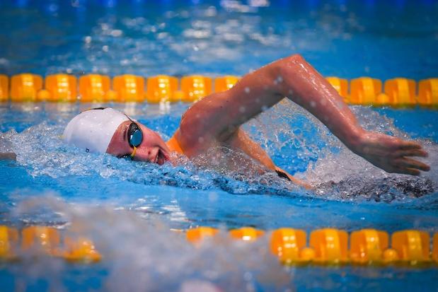 Valentine Dumont verbetert Belgisch record 100m vrij