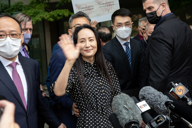 La directrice d'Huawei quitte le Canada après un accord conclu avec les Etats-Unis