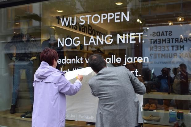 Onverwachte sluitingsgolf bekende winkels kadert in Unizo-campagne