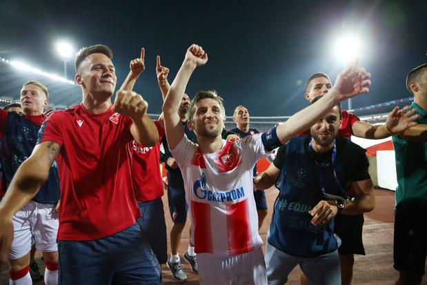 Ligue des Champions: L'Étoile Rouge, le Dinamo Zagreb et l'Olympiacos rejoignent la phase de groupes