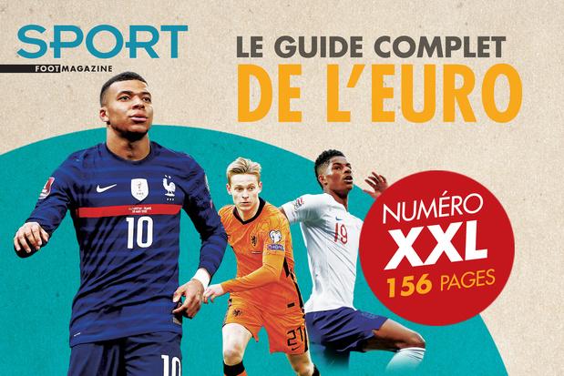 Procurez-vous le guide complet de l'Euro de Sport/Foot Magazine!