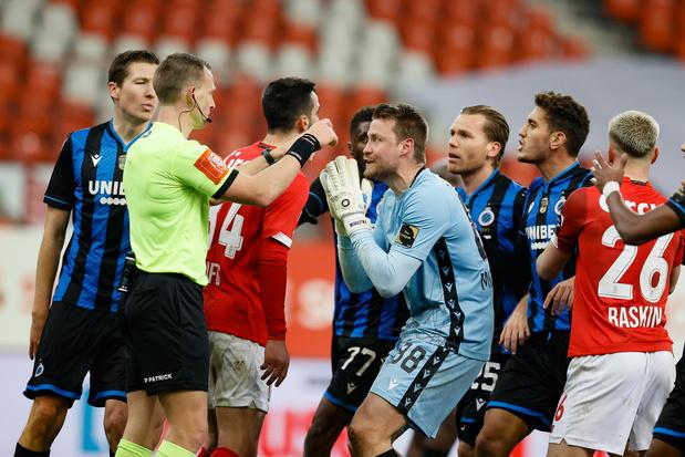 Coupe: l'extrême tension à Standard-Bruges, le tirage au sort des demi-finales