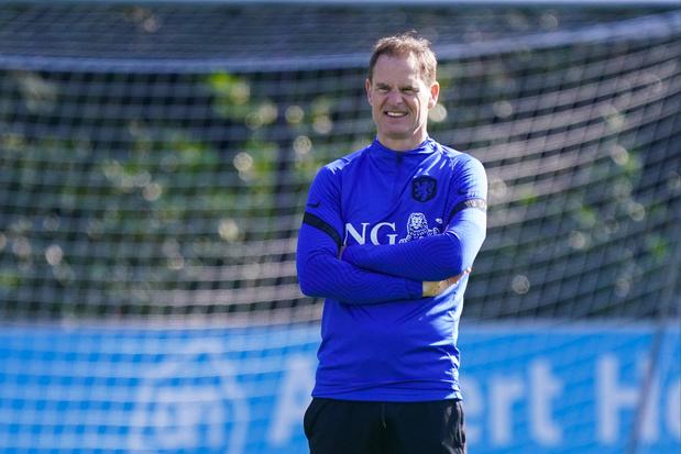 Bondscoach Frank de Boer: 'België is veel meer topfavoriet dan Nederland op EK'