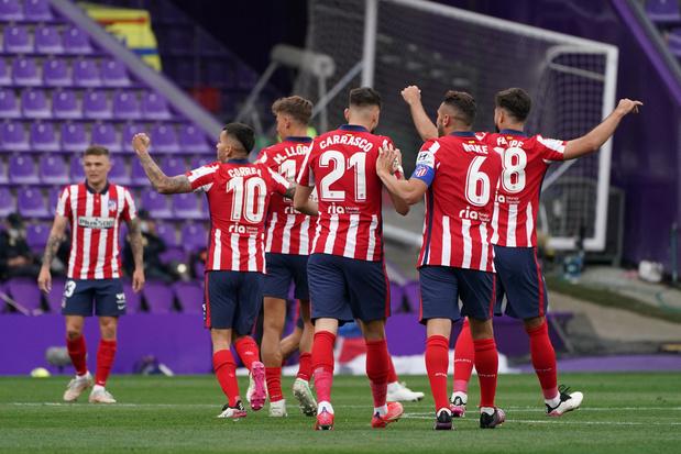 L'Atlético Madrid brise l'hégémonie du Real et du Barça en Liga
