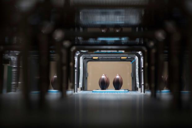Praliné in 3D: de nieuwe generatie pralines komt uit een printer