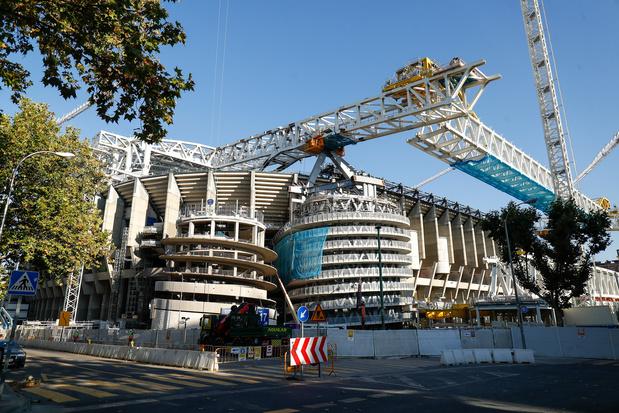 Après 559 jours, le Real Madrid va retrouver son stade Bernabeu modernisé