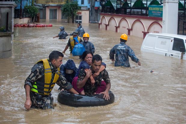 Inondations et coulées de boue durant la mousson au Népal font une quarantaine de morts