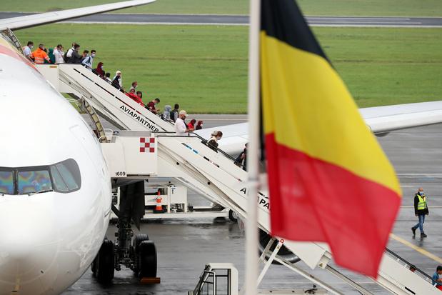 Opération Red Kite: les rapatriés belges sont arrivés sains et saufs en Belgique