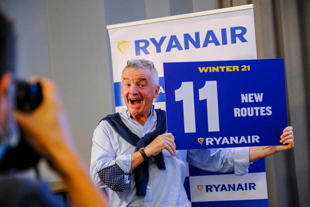 Ryanair lancera onze nouvelles routes cet hiver, 200 emplois supplémentaires créés
