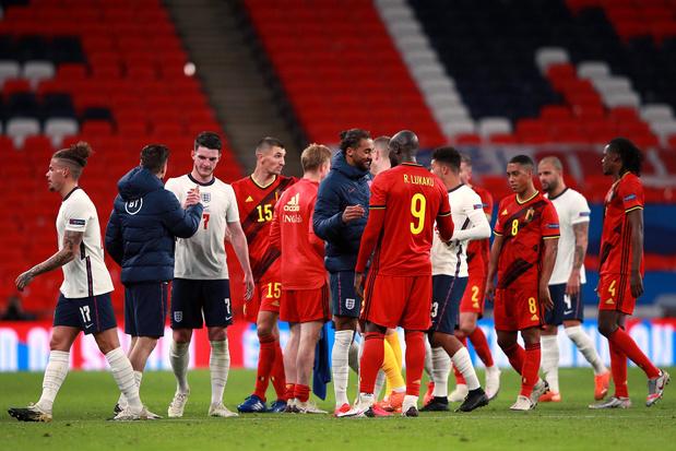 Rode Duivels in Engeland: saaie match, slecht resultaat