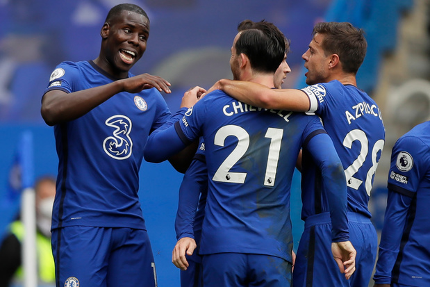 Chelsea domine Crystal Palace