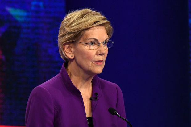 Elizabeth Warren confirme sa place dans le trio de tête de la course démocrate à la Maison Blanche
