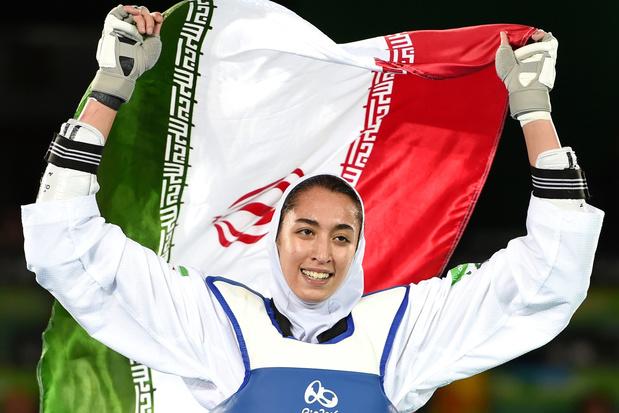 Topatlete vlucht uit Iran
