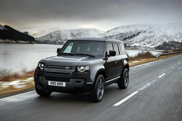 Land Rover lepelt V8-motor in Defender