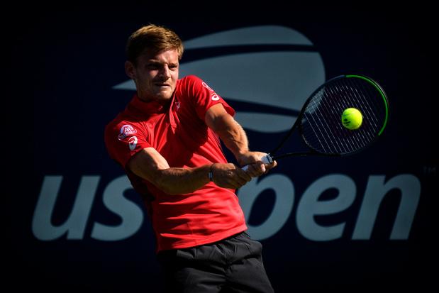US Open: David Goffin qualifié pour le deuxième tour