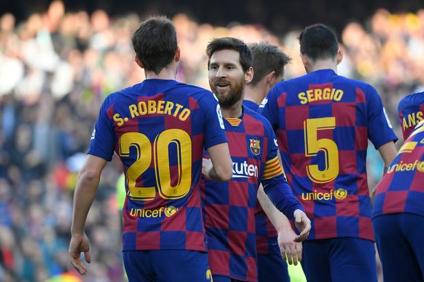 Logique que le Barça soit champion si la Liga s'arrête?